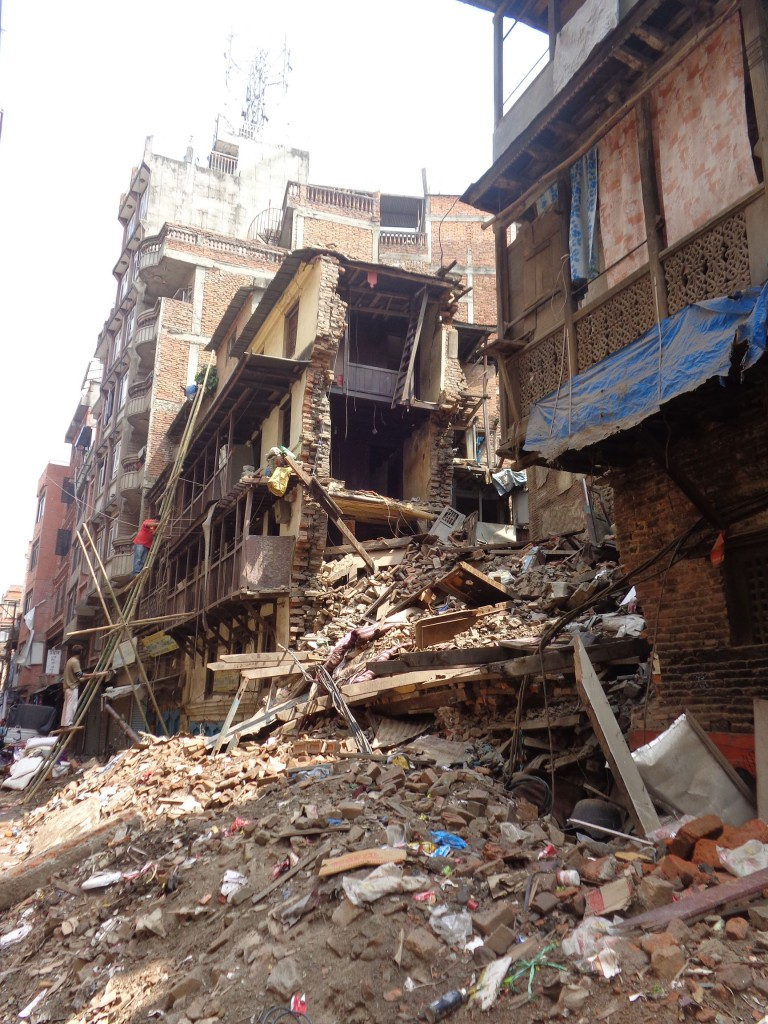 Destruction in Kathmandu_1